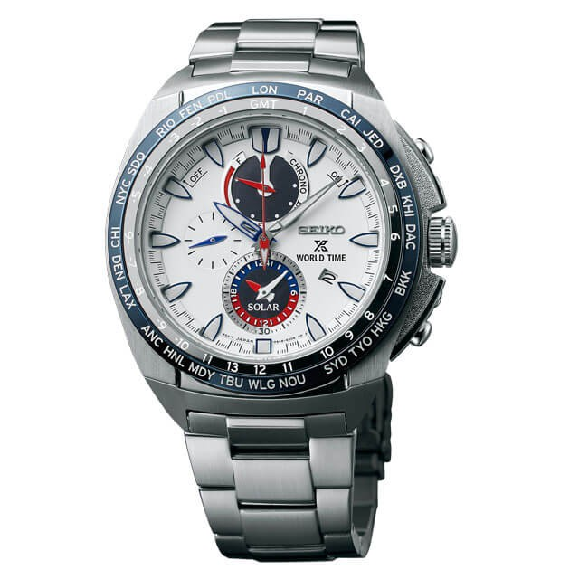 World Time Solar Chronograph